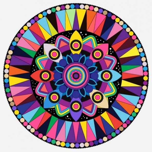 设计 矢量 矢量图 素材 圆形玩具 593_594