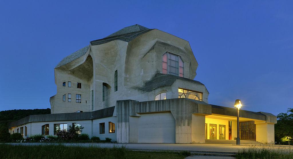 位于瑞士多纳赫的人智学代表性建筑物——歌德馆