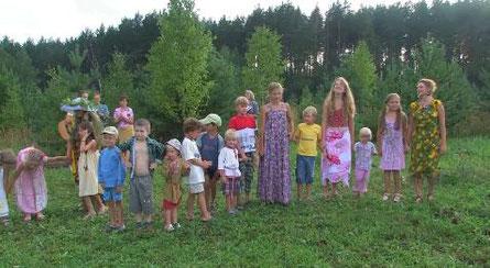 斯拉夫诺耶里有很多的小孩子