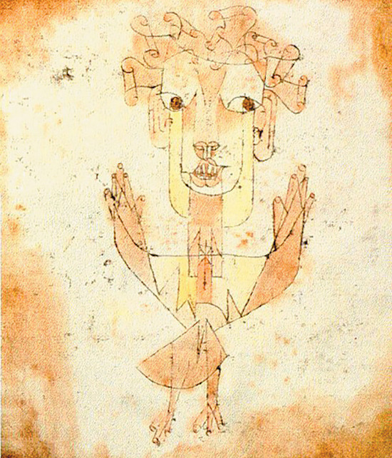 新天使(Paul Klee)