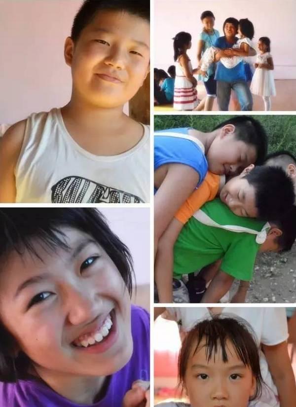 终南山自然学校夏令营的孩子们,喜悦之光在脸上,在眼里,在内心深处.....