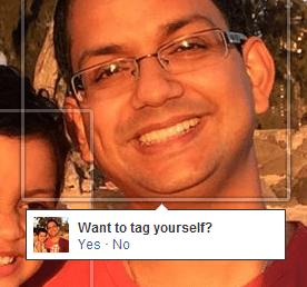 Facebook 使用这样的自动提示让人们标记更多的人,从而产生更大的社会外部性和更多的实时消息。