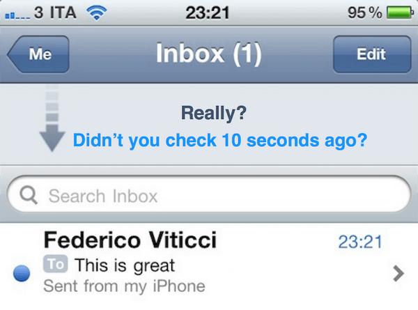 你每天查看几次电子邮件?