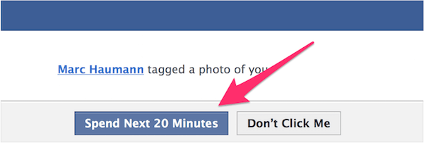 "Facebook 承诺点击 ""看照片"" 是一个很容易的选择。"