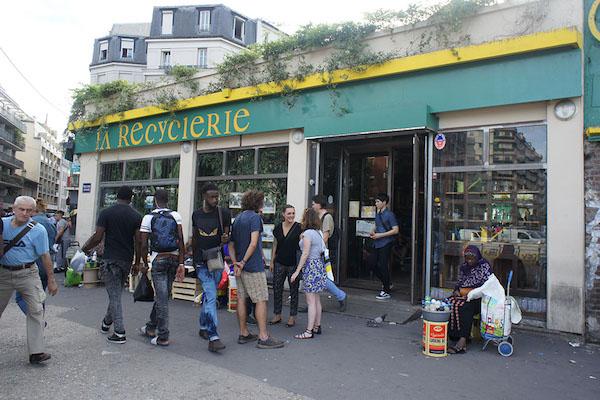 La REcyclerie 门口。图片由 Presentinart/黄怀琰提供。