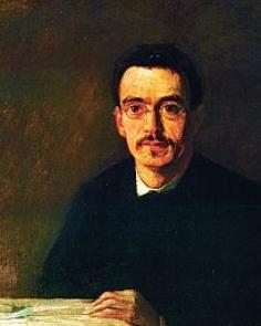 (施泰纳1892年肖像画,Otto Fröhlich作于魏玛)
